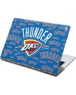 Oklahoma City Thunder Blast Yoga 910 2-in-1 14in Touch-Screen Skin