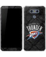 Oklahoma City Thunder Dark Rust LG G6 Skin