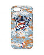 Oklahoma City Thunder Digi Camo iPhone 8 Pro Case