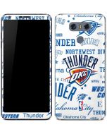 Oklahoma City Thunder Historic Blast LG G6 Skin
