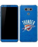 Oklahoma City Thunder Primary Logo LG G6 Skin