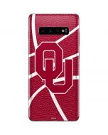 Oklahoma Sooners Basketball Galaxy S10 Plus Skin