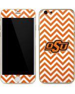 Oklahoma State Chevron Print iPhone 6/6s Skin