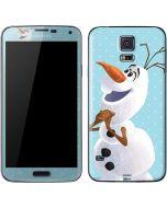 Olaf Polka Dots Galaxy S5 Skin