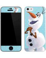 Olaf Polka Dots iPhone 5c Skin