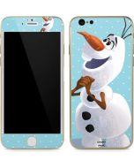 Olaf Polka Dots iPhone 6/6s Skin