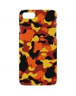 Orange Camo iPhone 8 Lite Case