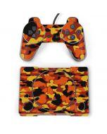 Orange Camo PlayStation Classic Bundle Skin