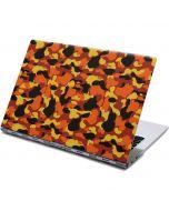 Orange Camo Yoga 910 2-in-1 14in Touch-Screen Skin