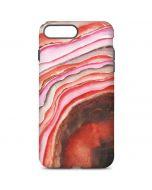 Orange Watercolor Geode iPhone 7 Plus Pro Case