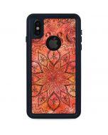 Orange Zen iPhone XS Waterproof Case
