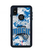 Orlando Magic Digi Camo iPhone XS Waterproof Case
