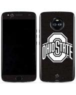 OSU Ohio State Black Moto X4 Skin