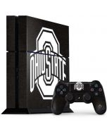 OSU Ohio State Black PS4 Console and Controller Bundle Skin