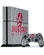 OSU Ohio State Buckeye Character PS4 Console and Controller Bundle Skin