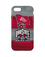 OSU Ohio State Buckeyes Flag iPhone 8 Pro Case
