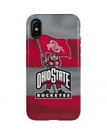 OSU Ohio State Buckeyes Flag iPhone X Pro Case