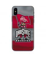 OSU Ohio State Buckeyes Flag iPhone XS Max Skin