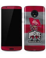 OSU Ohio State Buckeyes Flag Moto G6 Skin