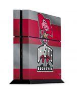 OSU Ohio State Buckeyes Flag PS4 Console Skin