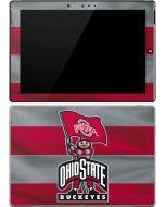OSU Ohio State Buckeyes Flag Surface 3 Skin
