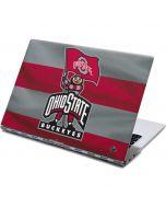 OSU Ohio State Buckeyes Flag Yoga 910 2-in-1 14in Touch-Screen Skin
