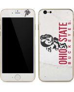 OSU Ohio State Buckeyes Light Grey iPhone 6/6s Skin
