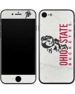 OSU Ohio State Buckeyes Light Grey iPhone 7 Skin