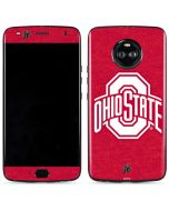OSU Ohio State Buckeyes Red Logo Moto X4 Skin
