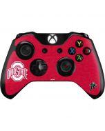 OSU Ohio State Buckeyes Red Logo Xbox One Controller Skin