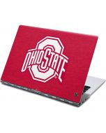 OSU Ohio State Buckeyes Red Logo Yoga 910 2-in-1 14in Touch-Screen Skin