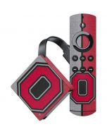 OSU Ohio State Buckeyes Split Amazon Fire TV Skin