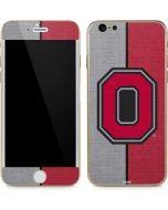 OSU Ohio State Buckeyes Split iPhone 6/6s Skin