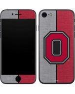 OSU Ohio State Buckeyes Split iPhone 7 Skin