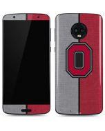 OSU Ohio State Buckeyes Split Moto G6 Skin
