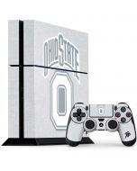 OSU Ohio State Faded PS4 Console and Controller Bundle Skin