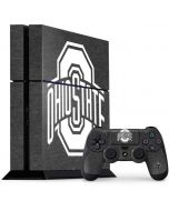 OSU Ohio State Grey PS4 Console and Controller Bundle Skin