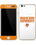 OSU Oklahoma Ride Em Cowboy iPhone 6/6s Skin