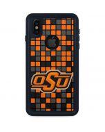 OSU Oklahoma State Digi iPhone XS Waterproof Case