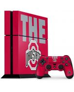 OSU The Ohio State Buckeyes PS4 Console and Controller Bundle Skin