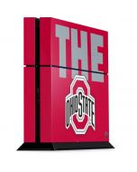 OSU The Ohio State Buckeyes PS4 Console Skin