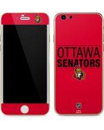 Ottawa Senators Lineup iPhone 6/6s Skin