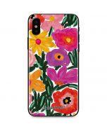 Painterly Garden iPhone X Skin