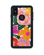 Painterly Garden iPhone X Waterproof Case