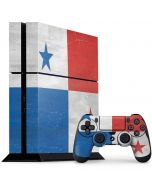 Panama Flag Distressed PS4 Console and Controller Bundle Skin
