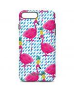 Party Flamingos iPhone 7 Plus Pro Case