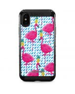 Party Flamingos iPhone XS Max Cargo Case