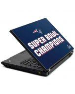 Patriots Super Bowl LIII Champions T440s Skin