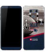 Patriots Super Bowl XLIX Champs LG G6 Skin