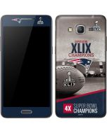 Patriots Super Bowl XLIX Champs Galaxy Grand Prime Skin